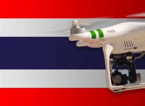 Les drones : Réglementation des drones en Thaïlande
