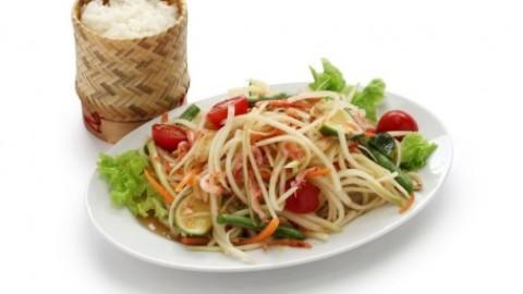 Qu'est-ce que c'est la salade de papaye verte pimentée