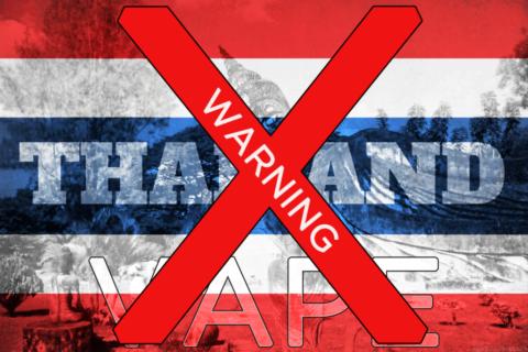 La cigarette électronique interdite de séjour en Thaïlande et officiellement illégale