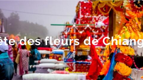 Festival où fête des fleurs de Chiang Mai