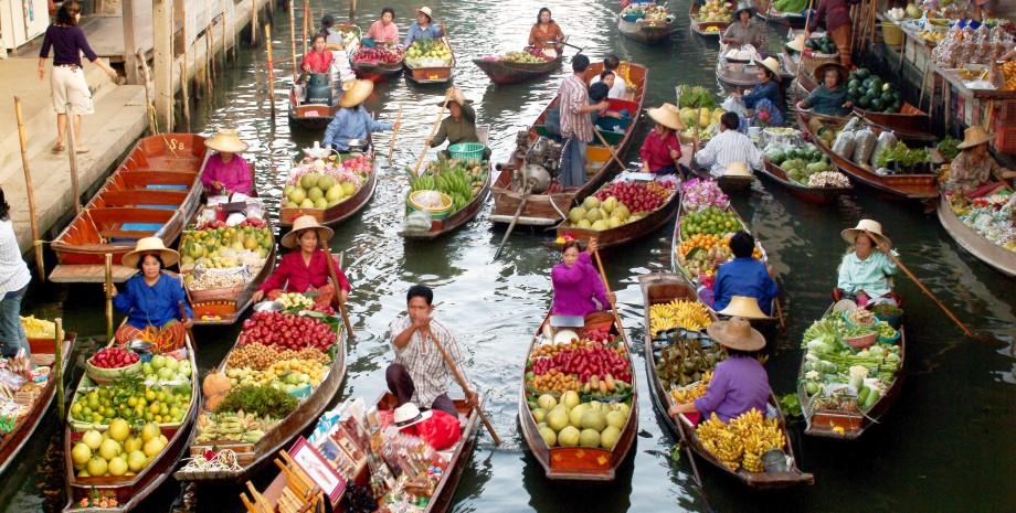 Quelles sont les meilleurs marchés flottants de Bangkok